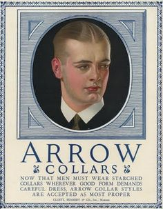 Arrow Collars Ad  JCL