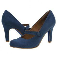 Pantofi casual dama s. Pumps, Heels, Navy, Casual, Fashion, Heel, Hale Navy, Moda, Fashion Styles