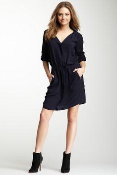 Blouson Sleeve Dress by DKNY Jeans on @HauteLook