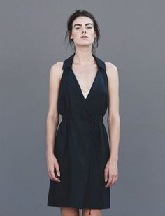 Kendal Wrap Dress,  keep things sophisticated in this soft woven, cupro blend with 100% cotton gauze wrap dress.  http://skinworldwideshop.com/collections/clothing/products/kendal-wrap-dress