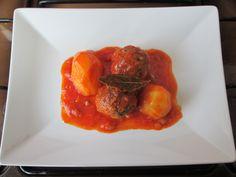 Croquettes  de  veau  au  tomato  et  pomme  de terre    Gino D'Aquino
