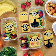 Your Kids Will Love This Easy-to-Make Minions Bento Box: Bello! We teamed up with Jimmy and Ashley from Feast of Fiction to make some of our favorite fictional characters — the Minions — into an adorably despicable edible bento box sandwich.