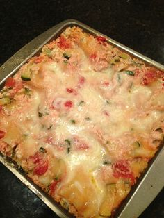 Vegetarian Zucchini Lasagna Recipe @Jessica Rose...thought of you when I saw this!