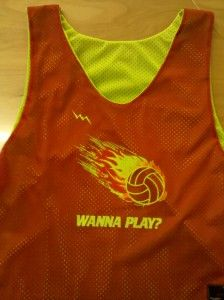 42b8daf7d cool Wanna Play Volleyball Pinnies - Westfield New Jersey Volleyball  Pinnies Play Volleyball