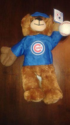 "Good Stuff CHICAGO BEARS 13"" Plush Bear 2014"