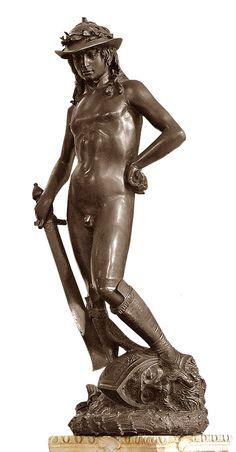 DONATELLO ~ David, 1440 - National Museum of Florence