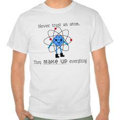 Funny Chemistry Atom T Shirt, Hoodie Sweatshirt