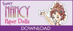 Fancy Nancy Paper dolls