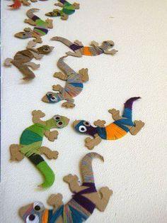 activites manuelles clsh - Page 3 - Basteln Kinder Vbs Crafts, Diy And Crafts, Arts And Crafts, Paper Crafts, Diy Paper, Projects For Kids, Diy For Kids, Art Projects, Crafts For Kids