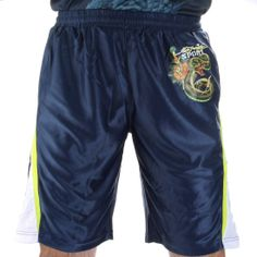 Ed Hardy Mens Sweat Pants Shorts – Blue