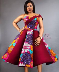 Kente Fabric Designs: See These Kente Styles For Fashionable Ladies - Lab Africa Short African Dresses, Latest African Fashion Dresses, African Print Dresses, Ankara Fashion, African Prints, Ankara Styles For Women, Ankara Dress Styles, Ankara Gowns, Kente Styles