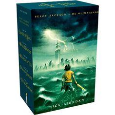 Livro - Box da Série Percy Jackson e os Olimpianos (5 livros)