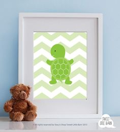 Baby Boy Nursery Art for Boys Room Decor, Baby Boy Gift for Boy, Boys Wall Art for Boy Nursery Decor Playroom Boys Art, Turtle Nursery Art on Etsy, $14.99