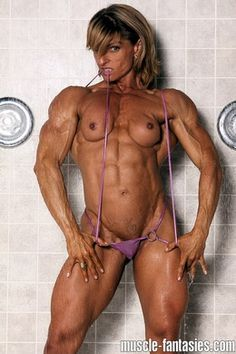 Sexy hot fantasy video Woman muscle