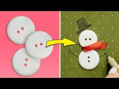 Weird DIYs - DIY iPhone cases and Popsockets for your phone! Easy Christmas Ornaments, Christmas Gift Decorations, Christmas Diy, Winter Crafts For Kids, Paper Crafts For Kids, Easy Crafts, Winter Fun, Origami, Snowman Crafts