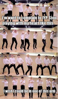 Got7.. 'Stop Stop it'! # JYP GOT7 Dance practice meme Jackson wang Jr. JB Jae bum bambam kim yugyeom mark tuan choi youngjae