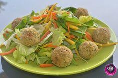 Falafel golyók 21db Falafel, Paleo, Potato Salad, Potatoes, Beef, Ethnic Recipes, Food, Meat, Potato