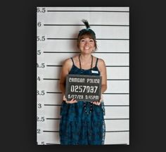 Halloween party // murder mystery party // Have a mug shot photo booth set up with props for students to use for keepsake photos Roaring 20s Party, 1920s Party, Great Gatsby Party, Roaring Twenties, Mafia Party, Prohibition Party, Speakeasy Party, Alaaf You, Clue Party