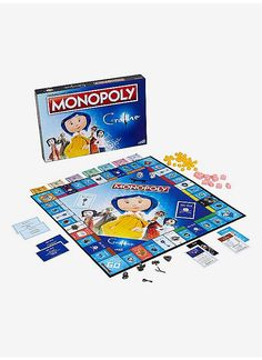 A game too weird for words // Coraline Edition Monopoly Board Game Coraline Doll, Coraline Jones, Coraline Drawing, Overwatch Pop, Coraline Aesthetic, Funko Game Of Thrones, Pivot Friends, Ar Game, Monopoly Board