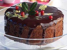 Βασιλόπιτα με σοκολάτα! | ediva.gr Vasilopita Cake, Vasilopita Recipe, Xmas Food, Christmas Sweets, Christmas Cooking, Christmas Ideas, Cyprus Food, New Year's Cake, Cake Bars