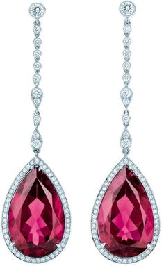 Ruby & Diamond Earrings!