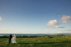 High-School friendship leads to marriage on the West coast of Ireland. Golf Wedding, Irish Wedding, West Coast Of Ireland, Trump International, Resorts, Real Weddings, Coastal, Friendship, High School