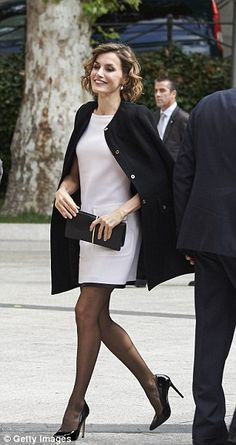 The monarch was on hand to dish out journalism awards at the headquarters of the Spanish upper house of Parliament in Madrid
