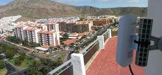 Instalación #WiFiCanarias #AirInternet en el Sur de #Tenerife @Kay Baty Owens #ubiquiti #nanoLoco