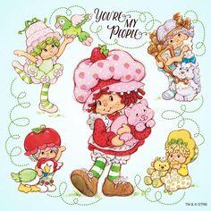 Classic Strawberry Shortcake - You're My People Strawberry Shortcake Cartoon, Vintage Strawberry Shortcake Dolls, Childhood Toys, Childhood Memories, Cartoon Tattoos, Dibujos Cute, Up Book, Rainbow Brite, Cute Illustration