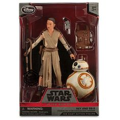 In collaboration with Lucasfilm we present the Star Wars Elite Series Rey and BB-8 die cast action figures. Add the resilient survivor and spherical droid inspired by Star Wars: The Force Awakens to ...
