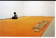 """Dominique Gonzalez-Foerster """"Tapis de lecture"""" 2000-2007"""