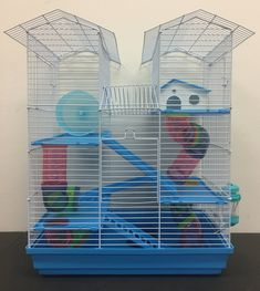 5Level Large Twin Towner Habitat Hamster Rodent Gerbils Mouse Mice Guinea Pig Cage -- Review much more reviews of the product by  going to the web link on the picture. (This is an affiliate link). Hamster Wheel, Hidden House, Small Animal Cage, Rabbit Cages, Rabbit Hutches, Gerbil, Pet Cage, Rodents, Guinea Pigs