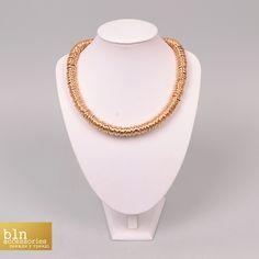Лаконічне кольє доповнить ваш аутфіт. Придбайте його в магазинах BLN accessories \ Necklace for your outfit in stores BLN accessories