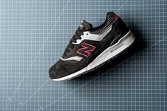 "New Balance M997CR ""Made in USA"" Black/Pink (Color Spectrum Pack) - EUKicks.com Sneaker Magazine"