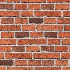 Rustic Red Brick Wallpaper