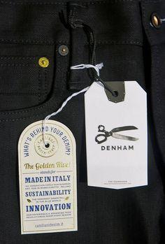 Denham #hangtag