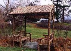 Inspiration for my bench/arbor