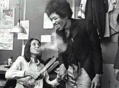 Joan Baez - Jimi Hendrix