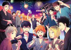 Haikyuu!! ~~ Summer festival time!