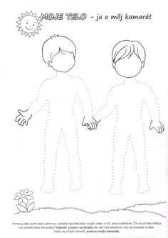 Kindergarten Worksheets, Body Parts, Human Body, Parenting, Parts Of The Body
