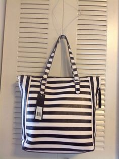Marc By Marc Jacobs Take Me Tote Bag, Stripe Leather, BLACK MULTI #MarcbyMarcJacobs #TotesShoppers