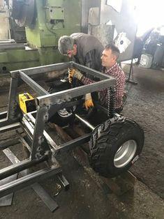 Handmade Offroad Buggy (UTV) : 9 Steps (with Pictures) - Instructables Go Kart Buggy, Off Road Buggy, Polaris Side By Side, Go Kart Kits, Polaris Utv, Go Kart Frame, Off Road Parts, Bike Challenge, Atv Car