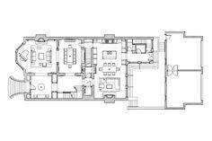 Georgian Townhouse   Massey Associates Architects Georgian Townhouse, Georgian Homes, Victorian Homes, Plan Design, Home Design, Town House Floor Plan, Floor Plan Drawing, Beautiful House Plans, Architecture Plan