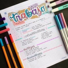 How to make summaries to learn faster? Bullet Journal School, Bullet Journal Notes, Bullet Journal Ideas Pages, Bullet Journal Inspiration, Cute Notes, Pretty Notes, Stabilo Pen, Beautiful Notes, School Notebooks
