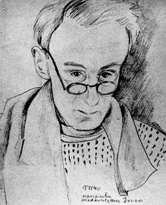 Józef Czapski, Autoritratto, 1940 Paris Suburbs, Polish, Portraits, Culture, Selfie, Artists, Drawings, History, Enamel