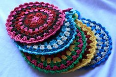crochet potholders easy | Crochet Pattern Central – Free Potholders and Hot Pads Crochet
