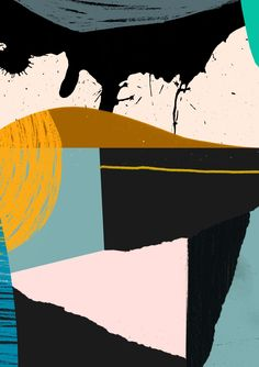 'Untitled' by Tom Abbiss Smith #abstract #art #contemporary #collage #pattern #design #illustration