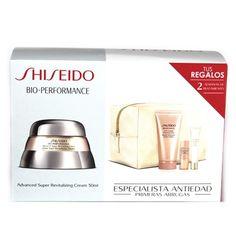Estuche Shiseido Bio-Performance Crema Advanced Super Revitalizing 50 ml + Regalo