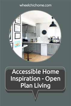 When looking for inspiration for an accessible home, don't just look at other accessible homes, why not take a look around your pinterest and Instagram feed for beautiful homes where you can take Open Plan Living ideas and can modify for your needs? My blog post has a lot of ideas on where to find inspiration, why not take a look? Bold Wallpaper, Sensory Issues, Folding Doors, Open Plan Living, Kitchen Living, Interior Styling, Interior Inspiration, Instagram Feed, Beautiful Homes