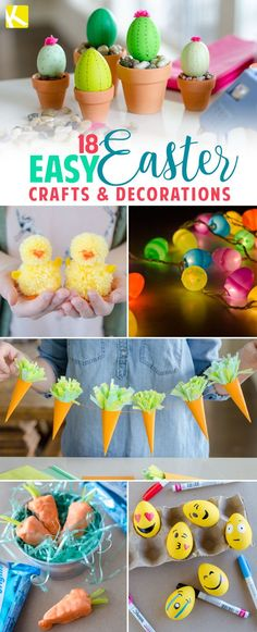 Cactus Easter eggs Get inspired for spring with these ridiculously easy Easter crafts anyone can do.